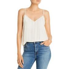 Equipment Femme Womens Layla Striped Sleeveless Camisole Top Shirt Bhfo 0689
