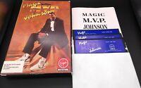 "MAGIC MVP JOHNSON 1990 VIRGIN MASTERTRONIC BASKETBALL COMPUTER PC GAME 5.25"" HD"