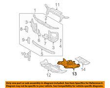 TOYOTA OEM Under Radiator/Engine-Cover Splash Shield 5145035010