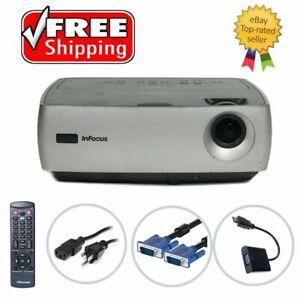 InFocus IN26 DLP Projector - HD 1080i HDMI w/adapter w/Accessories