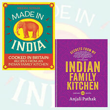 Indian Family Kitchen 2 Books Collection Set (Made in India: Cooked in Britain)