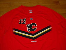 Vtg New Reebok Calgary Flames Jarome Iginla Jersey Shirt L S Mens XL Sharp! 2c6f9381e