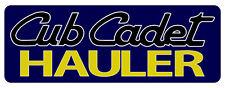 CUB CADET HAULER BUMPER STICKER - SET OF 2