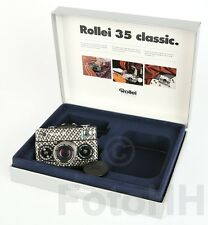 "ROLLEI 35 ""SQUARE BLACK AND WHITE"" IN SILVER WITH SERIALNUMBER PROTOTYP"