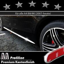 AUDI A4 B8 Typ 8K 2007 bis heute Chrom Zierleisten 3M Türleisten 2 Stk