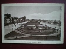 POSTCARD SOMERSET WESTON SUPER MARE - 1910'S VIEW FROM HUNTLEY'S HOTEL TOWARDS S