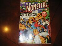 Where Monsters Dwell #34 MarvelComics 1974 Very Fine +