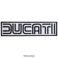 Ducati Motor Bike Brand Embroidered Patch Iron on Sew On Badge For Clothe etc