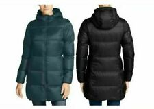 Eddie Bauer Womens Luna Peak Parka Down Jacket Coat 550 Fill S M L XL XXL Black