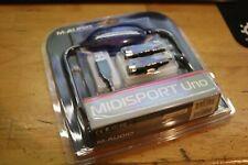 NEW (Read) M-Audio Midisport Uno 1-In/1-Out USB MIDI Interface SEALED PC Mac