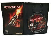 Resident Evil: Outbreak (Sony PlayStation 2, 2004) COMPLETE/VERY GOOD