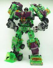 NBK Clear Devastator Transformation Toy Oversize Action Figure Transparent KO