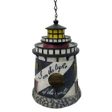 "New listing Lighthouse Nautical Decor Birdhouse 18""New Ships Fast"