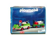 Rare Vintage 2001 Playmobil 3212 Baggage Carrier - Nib