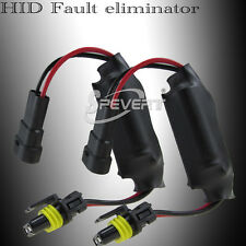 2X Xenon HID Canbus Decoder Warning Canceller Capacitor Fit All Ballast and Bulb