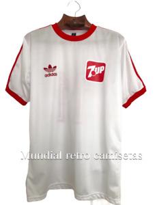 Argentinos Juniors 1985 campeon America jersey maglia camiseta blanca (retro)