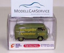 "Wiking Sondermodell (H0): VW T1 Kasten ""Dortmunder Kronenbier"" (Intermodellbau)"