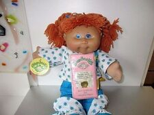 Cabbage Patch 2005 Red Hair Blue Eyes Clothes Shoes Birth Cert Deboxed Lot A1