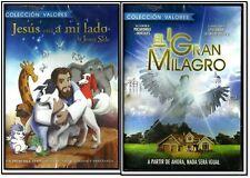 2 DVD PACK- EL GRAN MILAGRO Y JESUS esta A MI LADO[DVD: FORMAT] NEW