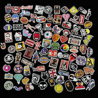 100 Skateboard Vinyl Sticker Skate Graffiti Laptop Luggage Guitar Car Bomb Decal
