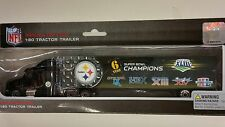 NFL 2009 Tractor-Trailer-Truck, 6 Time SB Champions Pittsburgh Steelers NEW
