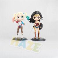 Movie Suicide Squad Harley Quinn Wonder Woman 15cm PVC Figure Model Toys