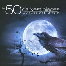 The 50 Darkest Pieces of Classical Music (CD, Oct-2011, 4 Discs, X5 Music Group)