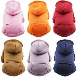 Warm Pet Clothes Cat Clothing Winter Clothing Coat Puppy Outfit Hoodies Mascotas