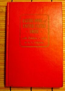 A GUIDE BOOK OF U. S. COINS/R S YEOMAN/HARD BOUND/20th ED./1967/258 P/VG + COND