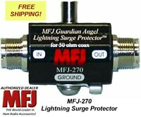 MFJ 270 LIGHTNING PROTECTOR SO-239 IN AND SO-239 OUT 400W PEP NEW