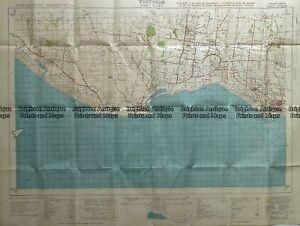 Antique Map 232-266 Port Fairy military map c.1942