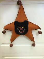 Halloween Plush Kitty Star Ornament