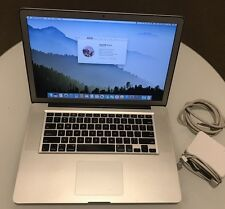 "Apple MacBook Pro A1286 15"" 2011 Quad Core i7 Matte Hi Res 2.0Ghz 8Gb 120Gb SSD"