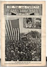 1901 Mail & Express MAY 11 - Mckinley trip south & west; NY Stock Exchange; Yale
