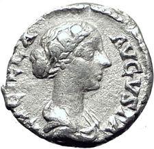 LUCILLA Lucius Verus Wife 164AD Rome  Ancient Silver Roman Coin VENUS i65072