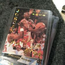 Michael Jordan 1994 Frontier Sports 'Greatest Ever' Cracked Ice Refractor Card