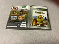 Shrek the Third (Microsoft Xbox 360, 2008) PLATINUM FAMILY HITS ACTIVISION NTSC