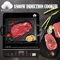 Portable Induction Cooktop Cooker Hot Plate stove Electric Burner with Timer