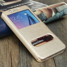 Etui Housse Coque Pochette Or Doré Gold Case Intérieur Silicone Samsung Galaxy