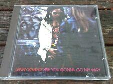 LENNY KRAVITZ - Are You Gonna Go My Way. CD.