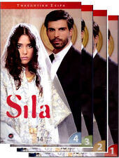 SILA  - TURKISH GREEK TV  SERIES -4 HUGE BOXES - 62 DVD UNCUT SET NEW