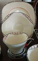 BURLEIGH WARE ART DECO TRIO EXCELLENT CONDITION NO 1