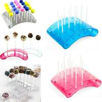 Cake Pop 20 Holes Lollipop Stand Display Holder Bases Shelf DIY Baking Tools