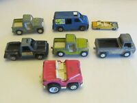 Lot of 7 Tootsie Toys Tonka Vintage Old Toy Cars