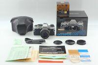 【N.MINT in Box】 OLYMPUS OM-10 SLR 35mm Film + 50mm f/1.8 Case From JAPAN #542