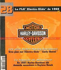 HARLEY DAVIDSON FLH 1200 Electra Glide Early Shovel 1968 ; HD Daytona Beach MOTO