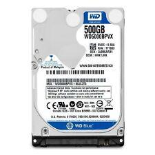 """Western Digital 500GB 5400RPM Internal 2.5"""" SATA Hard Drive HDD WD5000BPVX"""