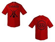 Endstille - 2013 rot - T-Shirt - Größe / Size XL - Neu