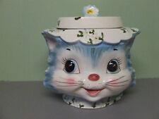 Vintage Lefton Miss Priss Kitty Cat Cookie Jar (Japan/#MR7871)
