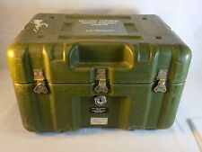 Vintage ARMY STORAGE BOX Ancillary Equipment Transit Assembly Case 11508270